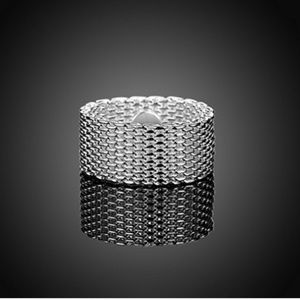 Jewelry - Mesh ring - Size 10 - material - zinc alloy
